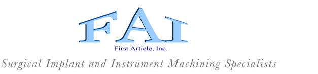 First Article Logo